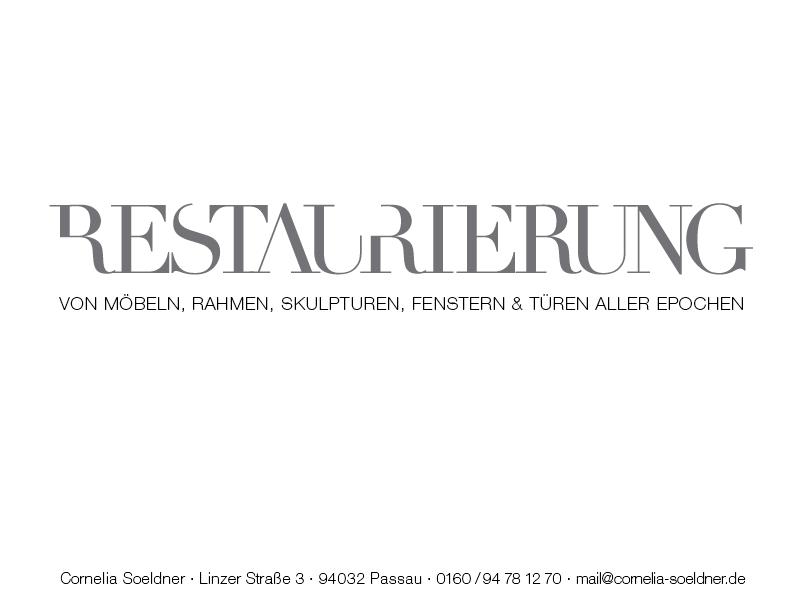 Cornelia Soeldner · Restaurierung · Passau